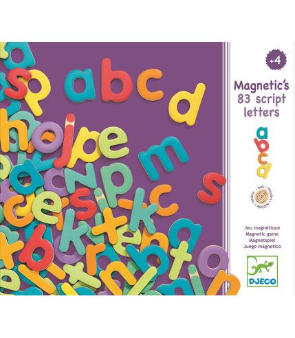 Drewniana układanka magnetyczna MAGNIVILLE  Djeco