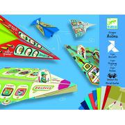Zestaw origami samolot Djeco