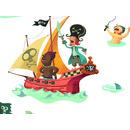 Naklejka ścienna Skarb Piratów Djeco