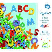 Kolorowe literki magnetyczne MAGNIVILLE  Djeco