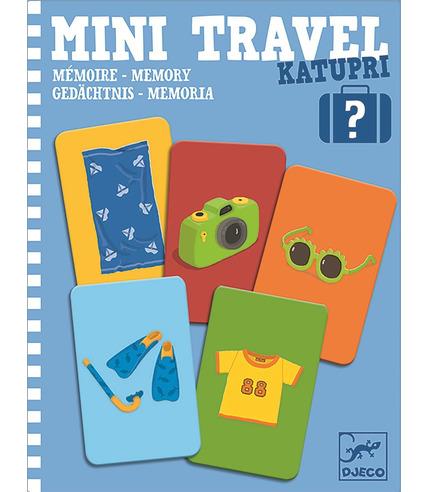 Djeco, Mini gra podróżna pamięciowa...