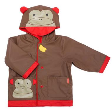 Skip Hop, płaszcz przeciwdeszczowy Zoo Małpa M (3-4 lata )