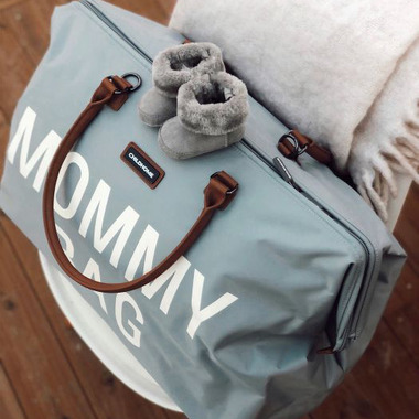 Childhome, Torba podróżna Mommy Bag szara