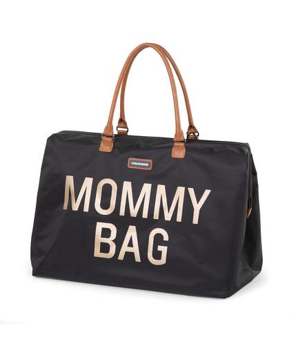 Childhome, Torba Mommy Bag  czarno-złota