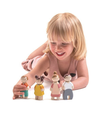 Tender Leaf Toys, Rodzinka Leaf,...