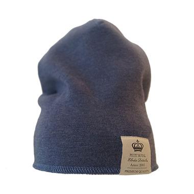 Elodie Details, czapka ORGANIC Petit Royal Blue 6-12