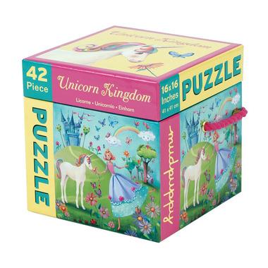 Mudpuppy, puzzle 42 elementy Jednorożec,