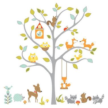 RoomMates, naklejki wielokrotnego użytku - Leśne drzewo