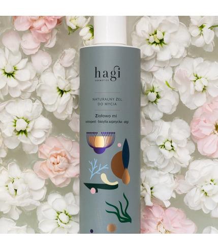 Hagi, naturalny żel do mycia ciała -...