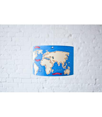 Lampa wisząca Mapa Świata Lamps&Co