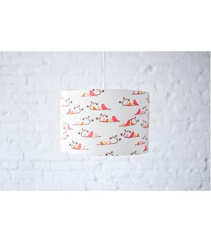 Lampa wisząca Pomarańczowe Ptaszki Lamps&Co