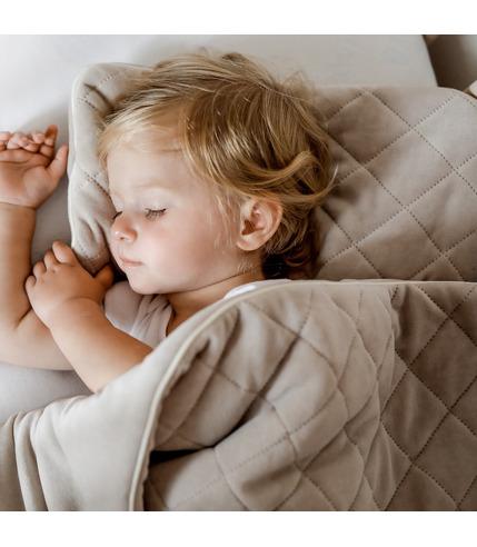Sleepee, Kocyk Welurowy z poduszką...