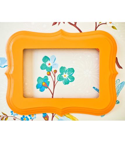 Ramka do zdjęć pomarańczowa Lamps&Co