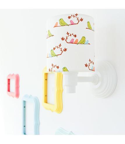 Kinkiet Kolorowe Ptaszki Lamps&Co