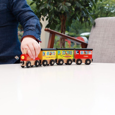 Scratch, Magnetyczny pociąg...