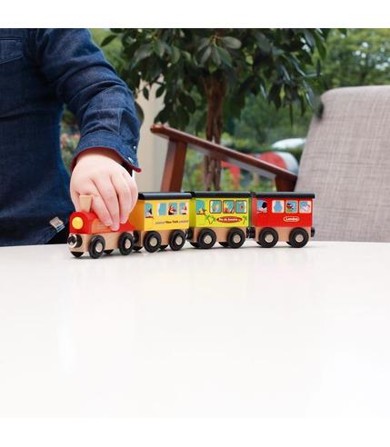 Scratch, Magnetyczny pociąg PODRÓŻ