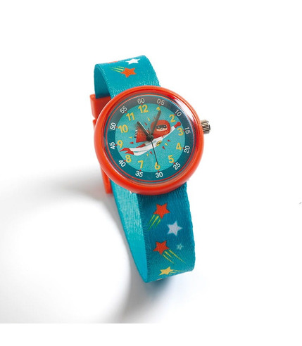 Djeco, Zegarek dziecięcy SUPER BOHATER