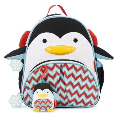 Skip Hop, plecak Zoo Winter Pingwin z zawieszką