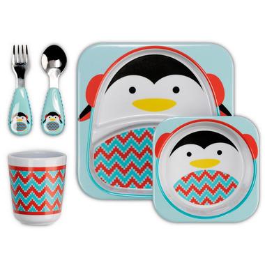 Skip Hop, zestaw jedzeniowy Zoo Winter Pingwin
