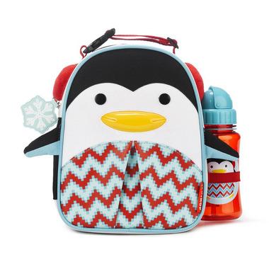 Skip Hop, lunczówka Winter Pingwin z bidonem