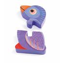 Puzzle drewniane pionowe Tunga&co Djeco