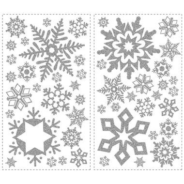 RoomMates, naklejki wielokrotnego użytku - Płatki śniegu