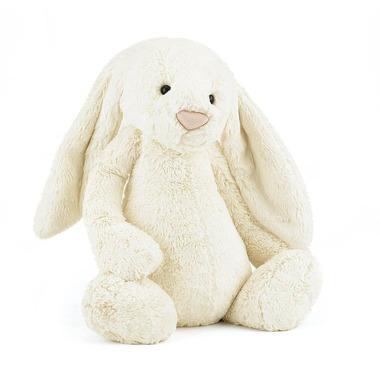 Duży kremowy królik 51 cm Jellycat