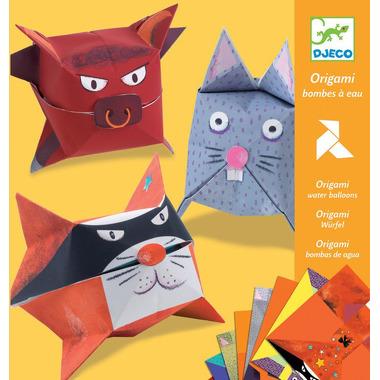 Djeco, origami zwierzątka Jak balony z wodą