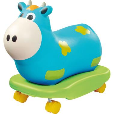 Bujaczek i jeździk w jednym niebieska krowa Rock'n'Rolla