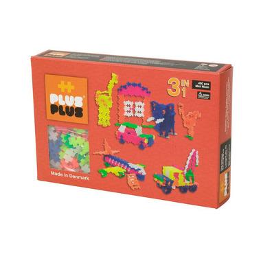 Plus-Plus, klocki konstrukcyjne Mini Neon 480 szt