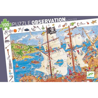 Djeco, puzzle - Bitwa Piratów