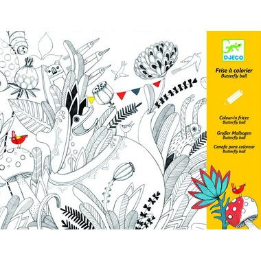 Djeco, kolorowanka z niespodzianką Motyle