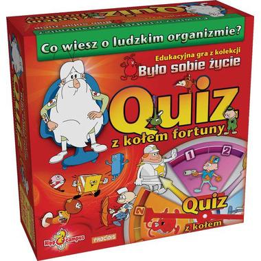 Gra Quiz z kołem fortuny