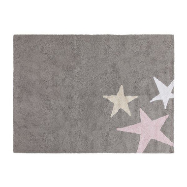 Dywan do prania w pralce Tres Estrellas Tricolor Rosa/Pink