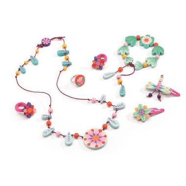 Djeco, zestaw biżuterii rajski ogród