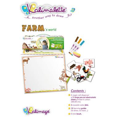 Farma – elektrostatyczna folia do malowania Kalimage
