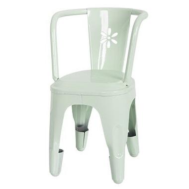 Maileg, metalowe krzesło zielone