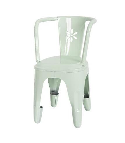 Metalowe krzesło zielone Maileg