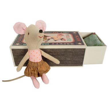 Maileg, mysz Starsza Siostra w pudełku