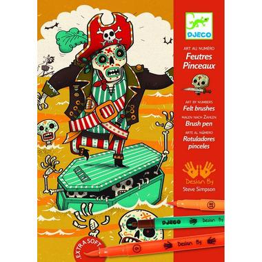 Djeco, zestaw artystyczny Piraci