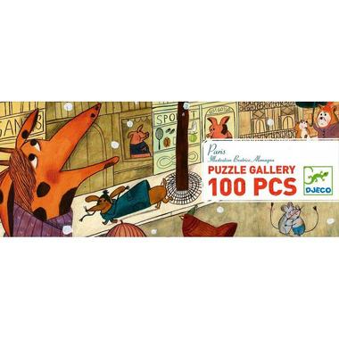 Djeco, puzzle Paryż 100 el.