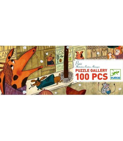 Puzzle Paryż 100 el. Djeco