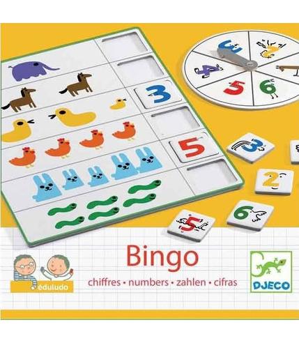 Bingo liczby Djeco