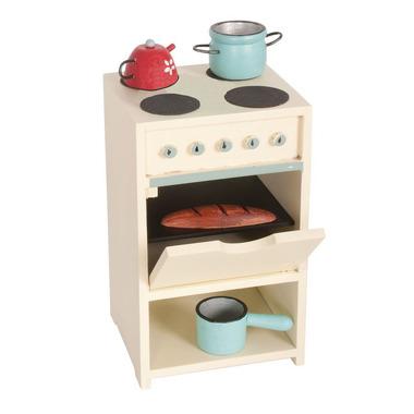 Maileg, kuchenka z naczyniami