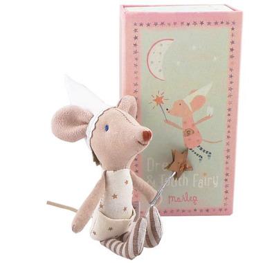 Maileg, myszka Wróżka Zębuszka Girl w pudełku