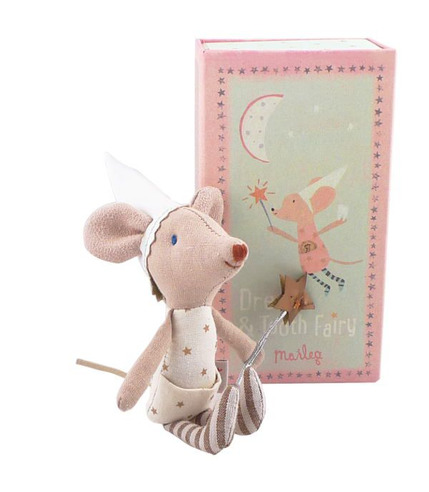 Myszka Wróżka Zębuszka Girl w pudełku Maileg