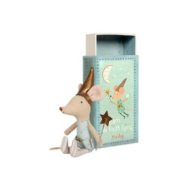 Maileg, myszka Wróżka Zębuszka Boy w pudełku