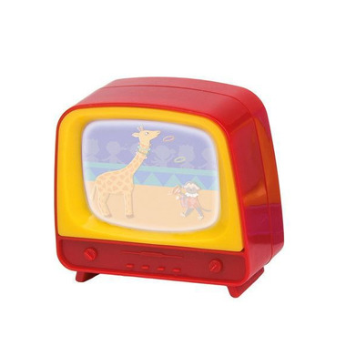 Mini telewizorek czerwony  Moulin Roty