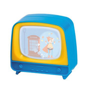 Mini telewizorek niebieski  Moulin Roty