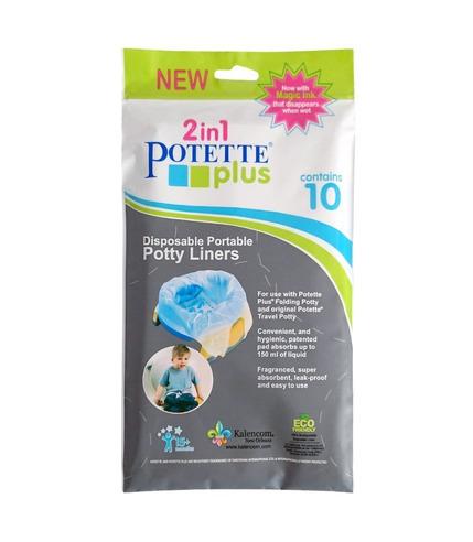 Potette Plus, Jednorazowe wkłady...
